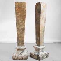 Pareja columnas detalle lateral