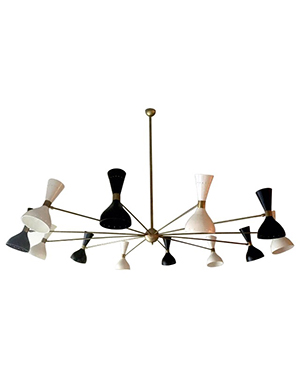 Gran lampara estilo Stilnovo