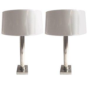 lamparas cromadas