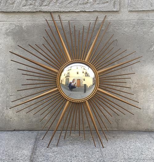 Espejo De Sol Dise O De Chaty Vallauris Tesla Antig Edades