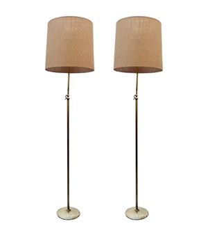 Pareja lámparas años 50