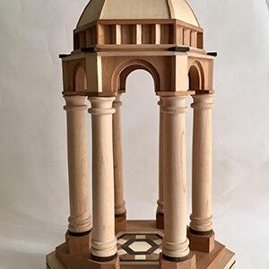 Maqueta templete