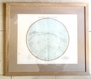 Mapa cielo estrellado
