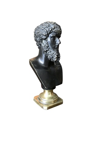 Busto bronce Lucio Vero